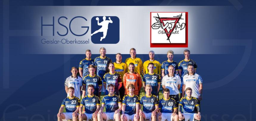 1. Saisonspiel der ersten Herrenmannschaft in der Oberliga