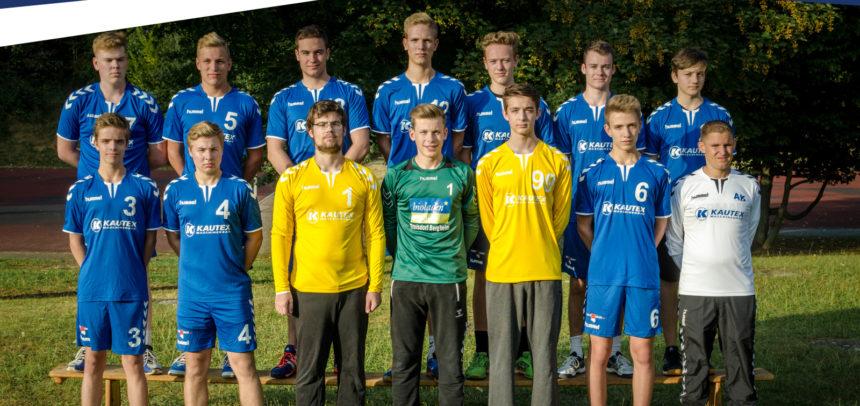 Männliche A-Jugend mit Kontakt zur Tabellenspitze in der Bezirksliga
