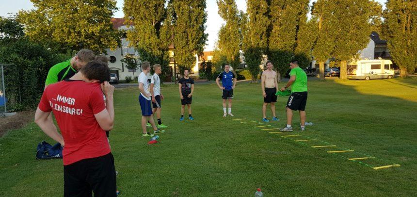 Vorbereitung auf die Mittelrhein Oberliga