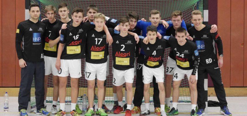 Männliche B-Jugend im Halbfinale der Mittelrheinmeisterschaft